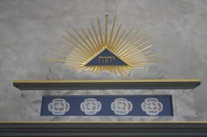 Tempelarbeit im II. Grad mit Aufnahme und Tafelloge